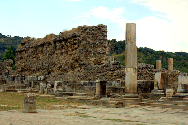 The ruins of Magnesia-on-the-Meander