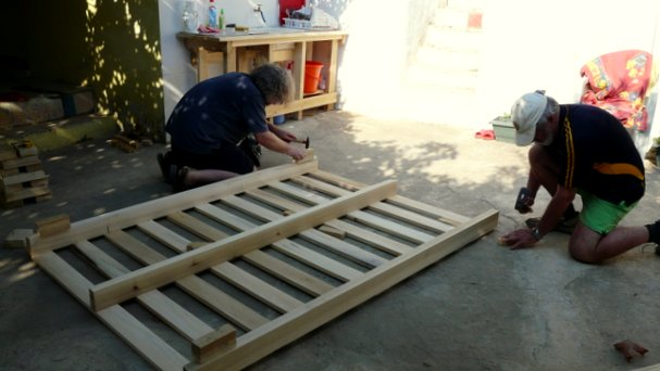 Building a new bed