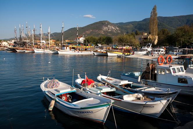 Harbour at Güzelçamlı.