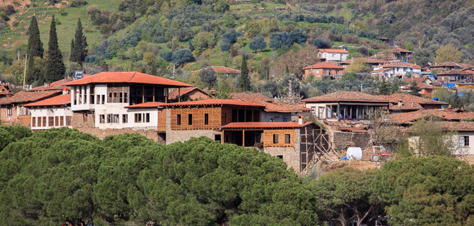 Traditional Turkish architecture in Birgi