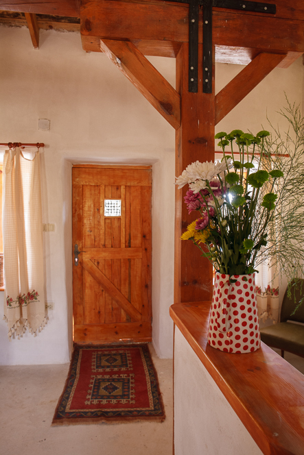 Interior with door